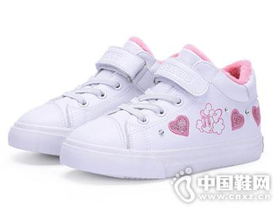 小白鞋2018秋冬新款韩版巴布豆运动鞋