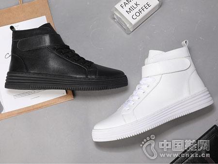 Mr.ing2018新款高帮板鞋休闲男鞋
