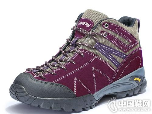 捷威户外徒步鞋男加厚高帮登山鞋