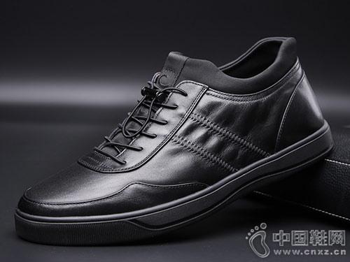 吉尔达男鞋冬季新款百搭版潮流皮鞋
