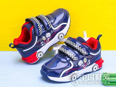 男童运动鞋2018新款奥特曼童鞋