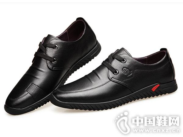 老人头男鞋新款英伦百搭男士休闲鞋