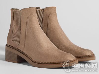 Bershka女鞋2018秋季新款切尔西靴