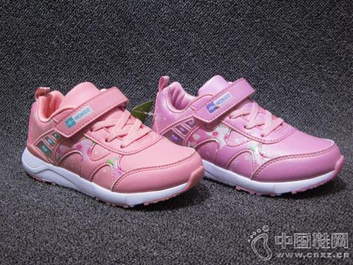 2018新款韩版酷奇女童运动鞋