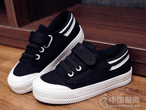 2018新款潮韩版透气休闲童布鞋