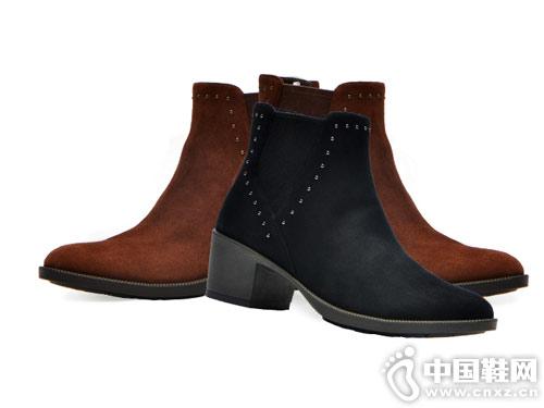 COZY STEPS秋冬新款英伦切尔西靴