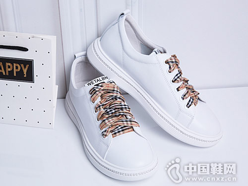 斯莱曼蒂2018秋新款全真皮休闲鞋