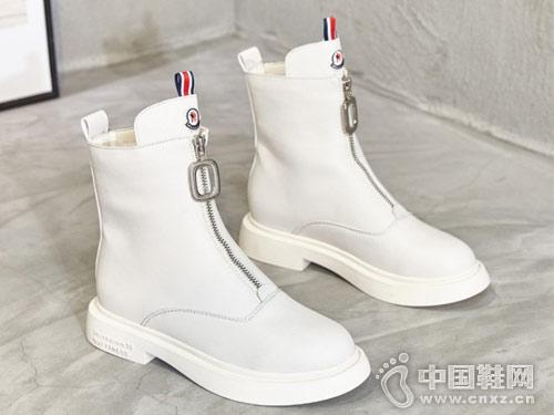 2018新款韩版巨一前拉链短筒靴