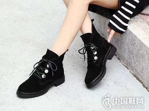 2018新款短靴维芙VOG FASHION绑带靴
