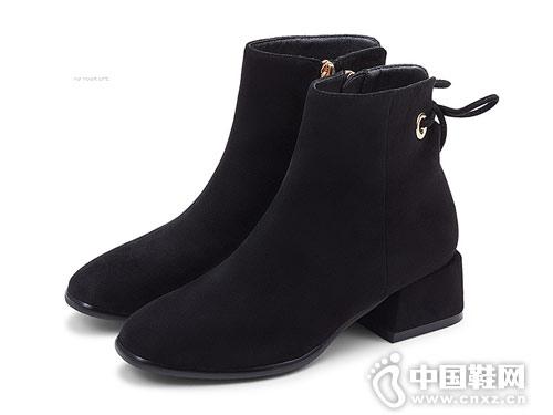 田莘2018新款秋冬网红瘦瘦靴