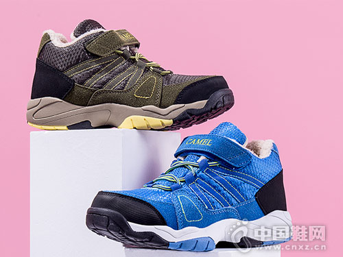 小骆驼童鞋冬季新款中大童运动棉鞋
