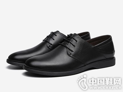 保罗盖帝软皮鞋正装商务皮鞋
