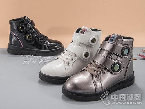 2018新款棉短靴童天冬季女童棉鞋