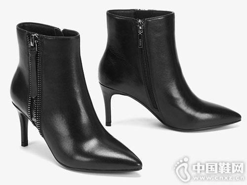 ee爱意冬季新款短靴 别致双拉链、舒适大底