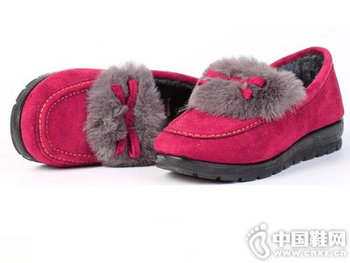 步瀛斋冬季老北京棉鞋中老年妈妈鞋