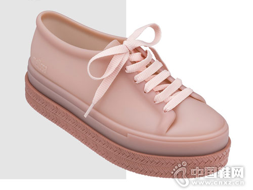Melissa梅丽莎BE低帮鞋平底系带板鞋