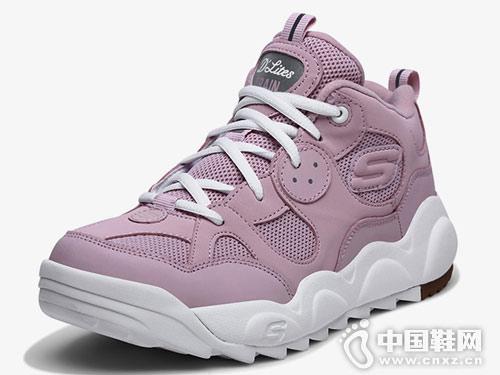 Skechers斯凯奇女鞋绑带运动鞋
