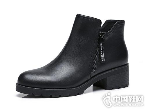 2018秋季新款骆驼短靴复古切尔西靴