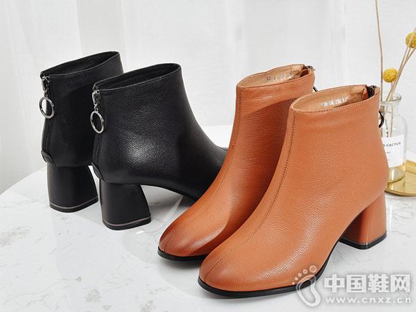 2018秋冬新款时尚欧美芭妮大牌短靴