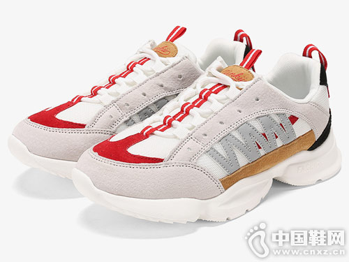 2019新款SHOEBOX鞋柜运动撞色老爹鞋