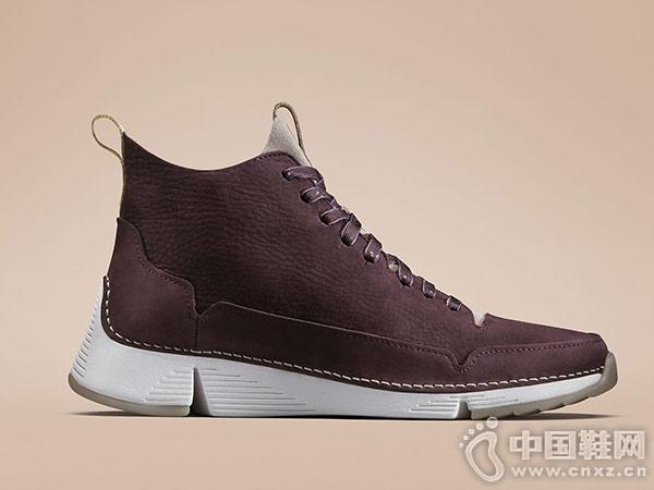 clarks其乐女鞋2018冬季新款短筒靴