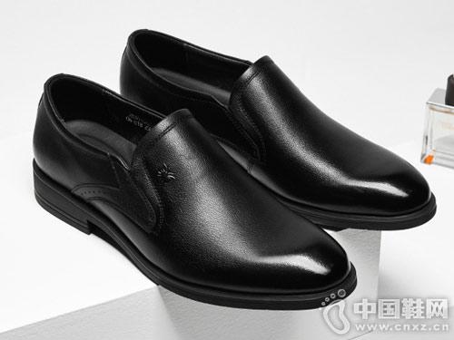 蜘蛛王2018男鞋冬季男士休闲皮鞋