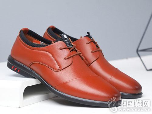 2018新款男士商务蜘蛛王休闲皮鞋