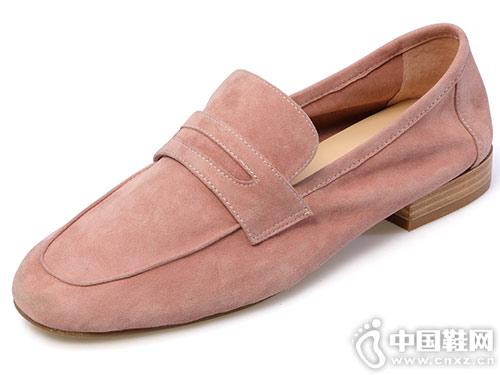 2018秋季新款乐福鞋 百田森豆豆鞋