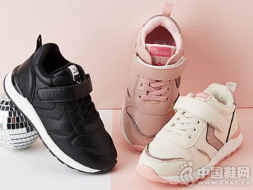 2018冬季新款笛莎女童运动鞋
