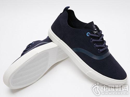美特斯邦威休闲鞋男2018秋冬新款
