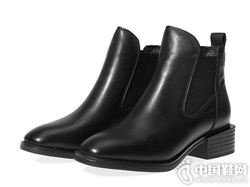 2018冬季新款马丁短靴都市情人真皮靴子