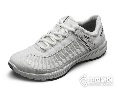 ECCO爱步休闲男鞋 舒适透气低帮鞋