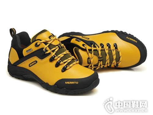 迈途徒步鞋真皮户外鞋越野女士登山鞋