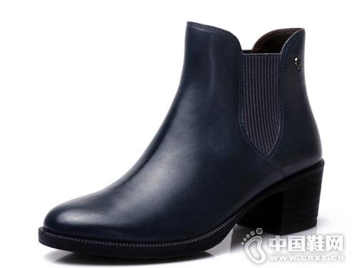 COZY STEPS马丁靴女英伦风短靴