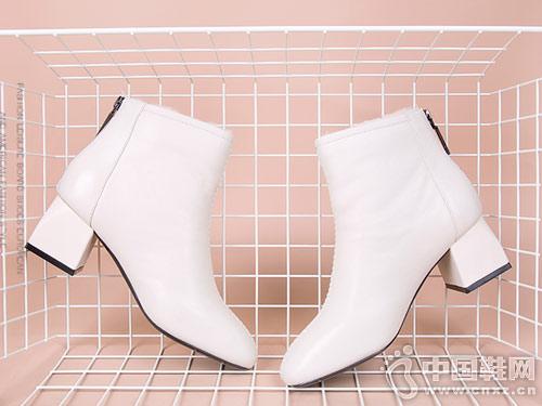 2018新款斯莱曼蒂短靴女秋冬马丁靴