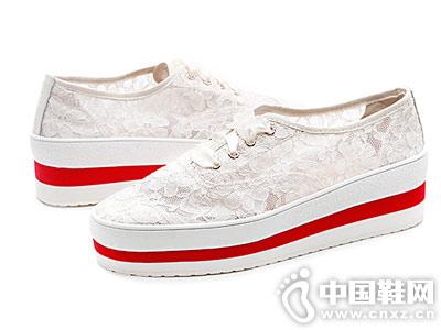 2019快乐玛丽jm春季新款透气休闲鞋