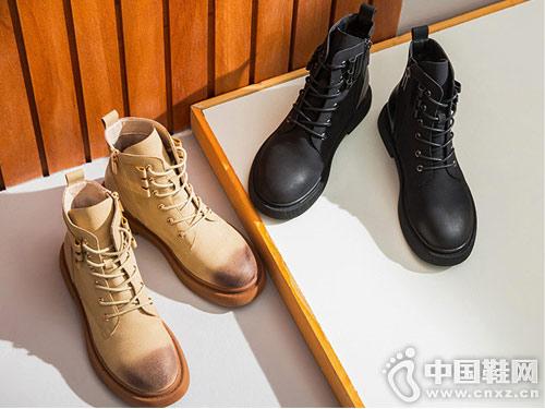 2018新款冬马丁靴honeyGIRL靴子