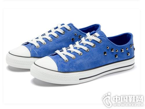 feiyue飞跃铆钉女鞋休闲运动低帮鞋
