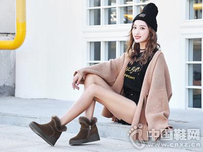 慕兰茜2018加棉短靴冬季新款