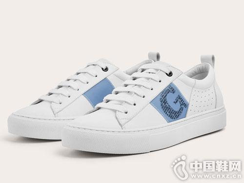 2019GXG春季新款 字母logo印花小白鞋