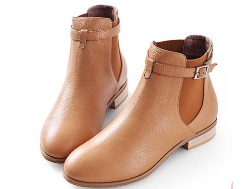 琪可朵新品及踝裸靴韩版