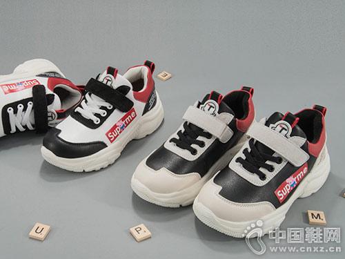 童天小猪佩奇童鞋运动鞋 轻便、保暖、舒适