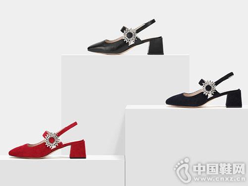Aee爱意2019春夏新款时尚玛丽珍女鞋