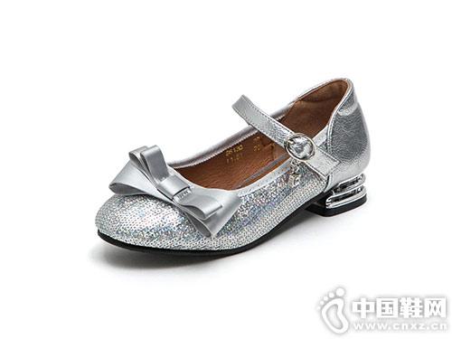 女童公主鞋好榜样小皮鞋2018秋季新款