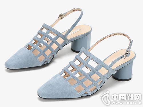 ONDUL圆漾2019年春夏新品单鞋