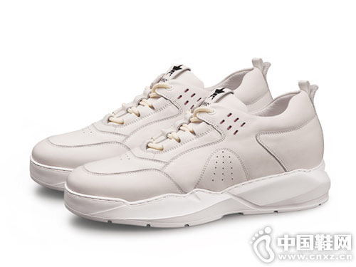 内增高男鞋休闲小白鞋高哥新款