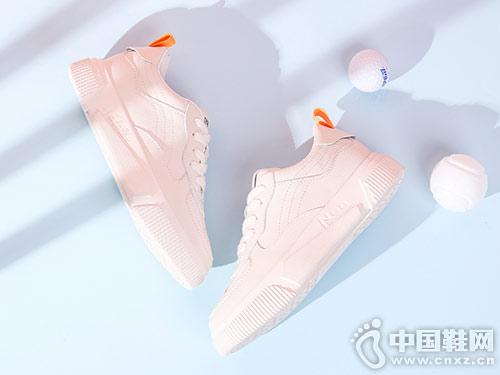 珂卡芙平底小白鞋女2019春季新款板鞋