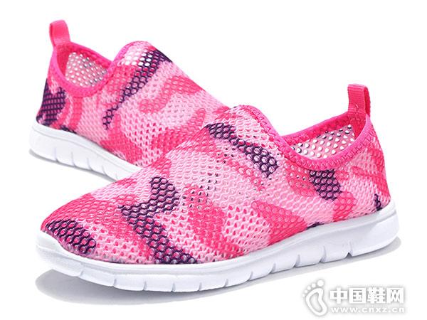 百变宝贝夏季网鞋透气网面童鞋