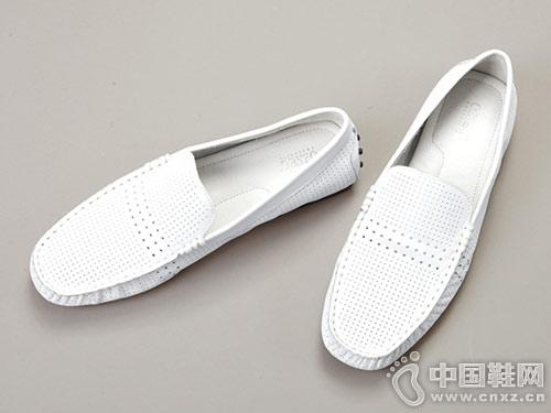 2019春季OZZEG英伦韩版懒人休闲皮鞋