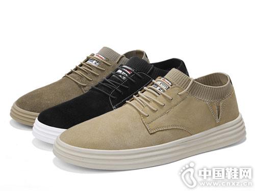 木林森2019新款男鞋夏季休闲板鞋